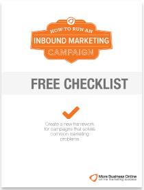 A cover image of our Free checklist: How to Create an Effective Inbound Marketing Campaign