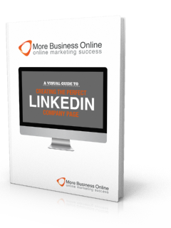A cover image of our Free eBook: A Visual Guide To Creating The Perfect LinkedIn Company Page