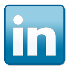 The linkedIn icon. LinkedIn is probably the best social media platform to market your business in newcastle