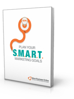A cover image of our Free Template: Plan Your SMART Marketing Goals