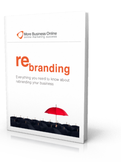A cover image of our Free eBook: Rebranding - Everything You Need To Know About Rebranding Your Business