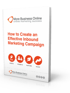 A cover image of our Free eBook: How to Create an Effective Inbound Marketing Campaign