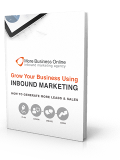 A cover image of our Free eBook: Grow Your Business Using Inbound Marketing
