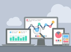 Analytics data can be checked on almost any device today. There's no excuse not to track your landing page performance