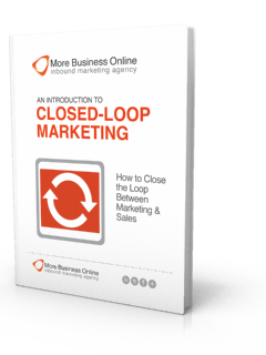 A cover image of our Free eBook: An Introduction To Closed-Loop Marketing