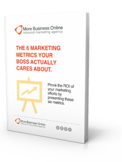 A cover image of our Free eBook: The 6 Marketing Metrics Your Boss Actually Cares About