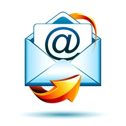 An icon for email marketing