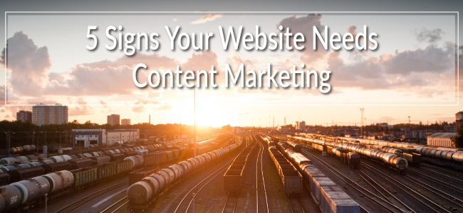Content marketing isn't an optional extra anymore. It attracts views, builds trust, educates the right kinds of customer, and benefits your website for years after publication. Don't underestimate its usefulness