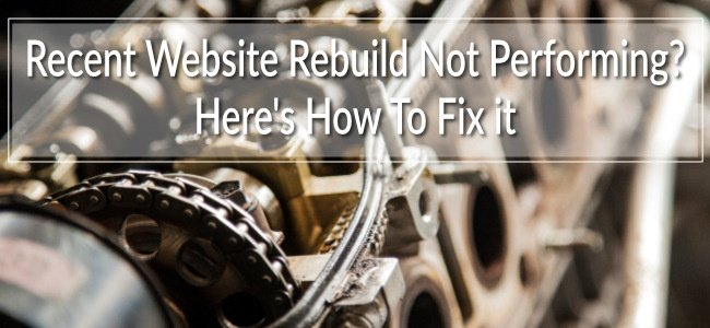 Regular website updates will score well with Google and your customers respectively.