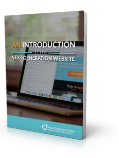 Cover image of an introduction to the next generation website