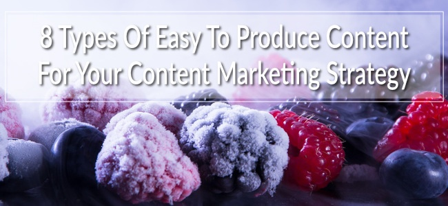 Boosting your content marketing by starting from a place helps.