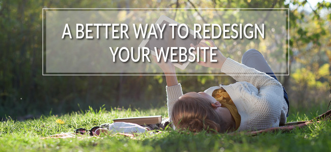 Make your next website redesign an easy one